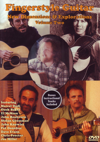 Image of Various Artists, Fingerstyle Guitar: New Dimensions & Explorations vol.2, DVD