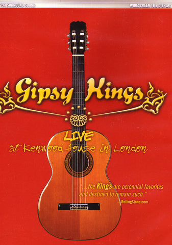 Image of Gipsy Kings, Live at Kenwood House in London, DVD