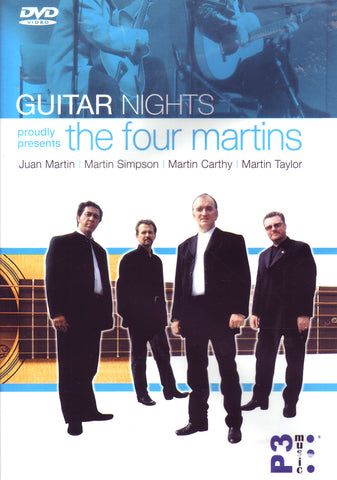 Image of The Four Martins, Guitar Nights, DVD