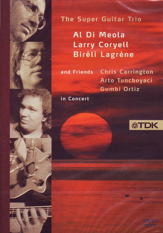 Image of The Super Guitar Trio and Friends, In Concert, DVD