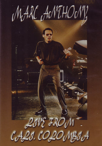 Image of Marc Anthony, Live from Cali Colombia, DVD