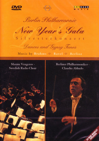 Image of Berlin Philharmonic, New Year's Gala 1996, DVD