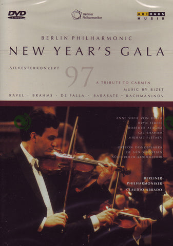 Image of Berlin Philharmonic, New Year's Gala 1997, DVD