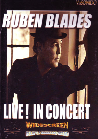 Image of Ruben Blades, Live! In Concert, DVD