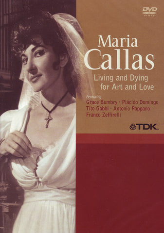 Image of Maria Callas, Living and Dying for Art and Love, DVD