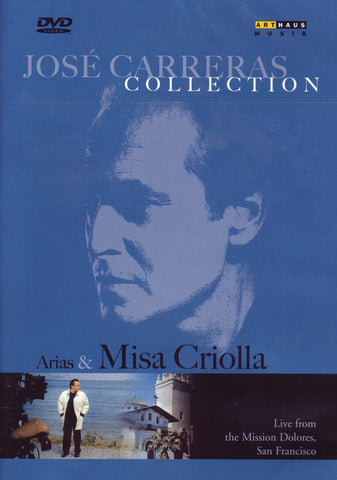 Image of Jose Carreras, Misa Criolla & Arias, DVD