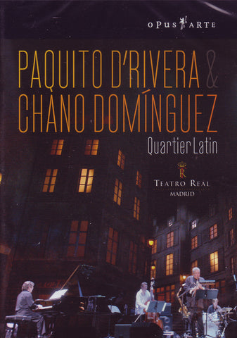 Image of Chano Dominguez & Paquito D'Rivera, Quartier Latin, DVD