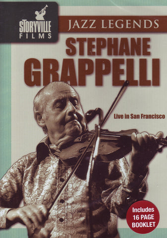 Image of Stephane Grappelli, Live in San Francisco, DVD
