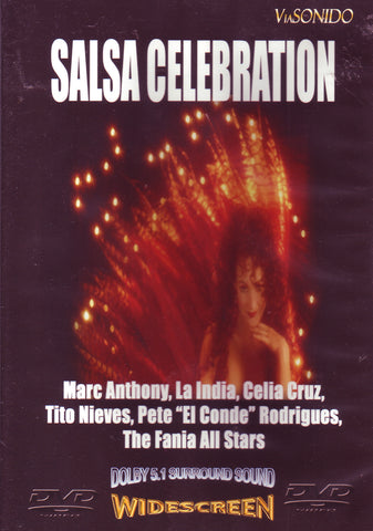 Image of Various Artists, A Salsa Celebration, DVD