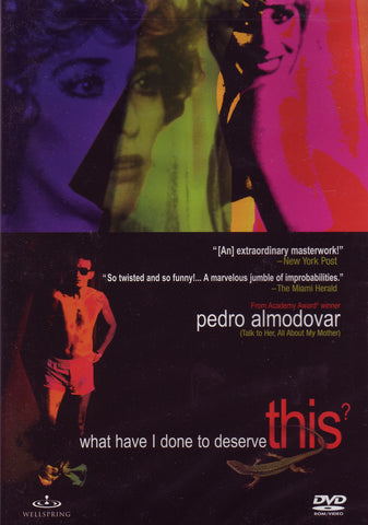 Image of Pedro Almodovar, What Have I Done to Deserve This?, DVD