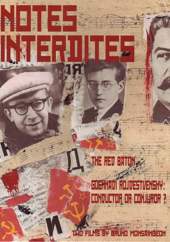 Image of Bruce Monsaingeon, The Red Baton: Scenes of Musical Life in Stalinist Russia, DVD