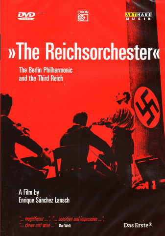 Image of Enrique Sanchez Lansch, The Reichsorchester: The Berlin Philharmonic and the Third Reich, DVD