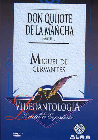Image of Miguel de Cervantes, Don Quijote de la Mancha part 1, DVD