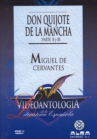 Image of Miguel de Cervantes, Don Quijote de la Mancha parts 2-3, 2 DVDs
