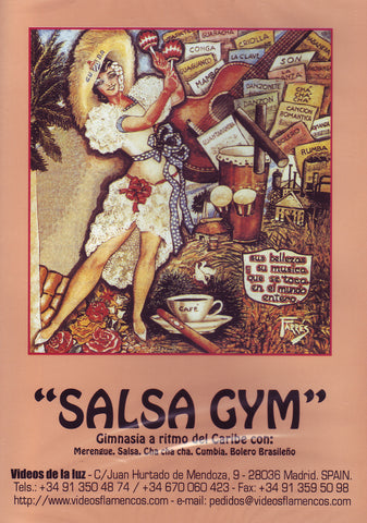 Image of Alicia, Salsa Gym, DVD