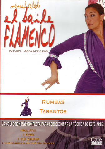 Image of Manuel Salado, El Baile Flamenco vol.18: Rumbas & Tarantos (advanced level), DVD & CD
