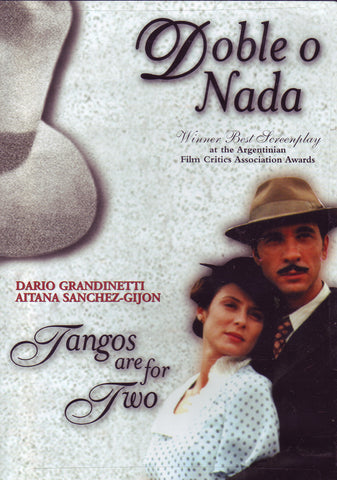 Image of Marina Valentini (director), Doble o Nada / Tangos are for Two, DVD
