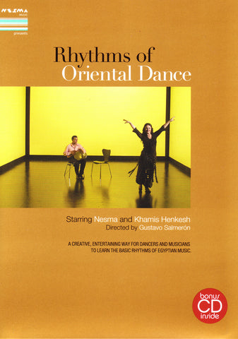 Image of Nesma & Khamis Henkesh, Rhythms of Oriental Dance, DVD-PAL & CD & Booklet