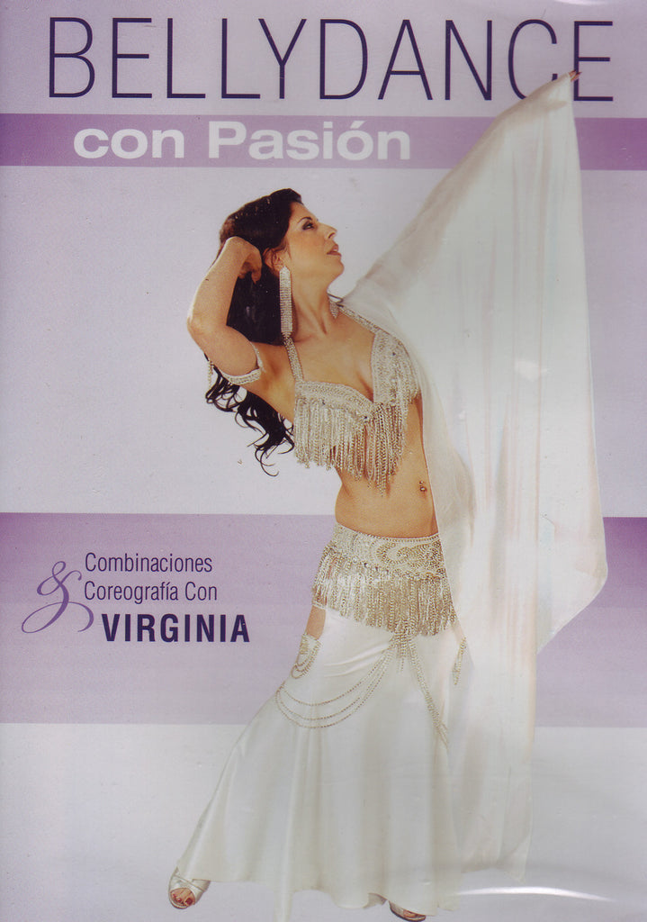 Image of Virginia, Bellydance con Pasion, DVD