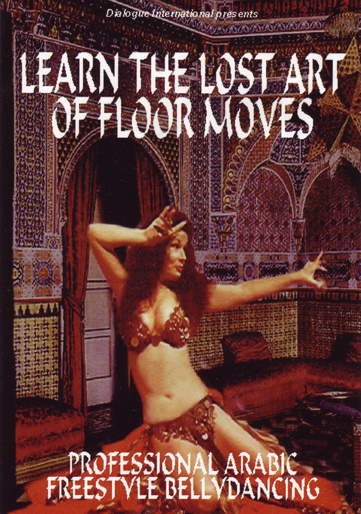 Image of Cory Zamora, Learn the Lost Art of Floor Moves, DVD