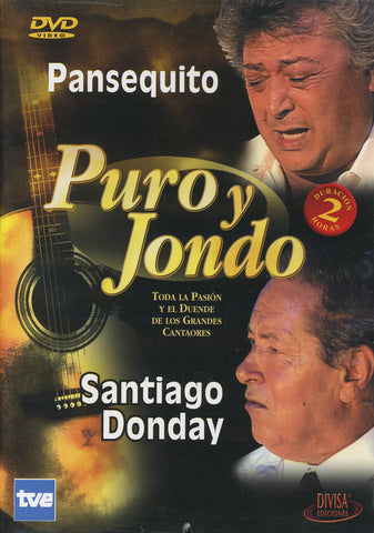 Image of Puro y Jondo (Various Artists), Puro y Jondo: Pansequito & Santiago Donday, DVD-PAL