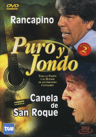 Image of Puro y Jondo (Various Artists), Puro y Jondo: Rancapino & Canela de San Roque, DVD-PAL