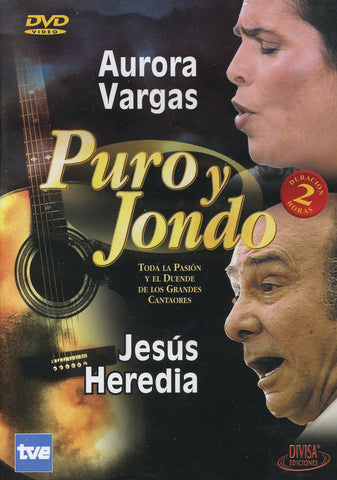 Image of Puro y Jondo (Various Artists), Puro y Jondo: Aurora Vargas & Jesus Heredia, DVD-PAL