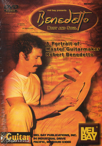 Image of Robert Benedetto, Body and Soul, 2 DVDs