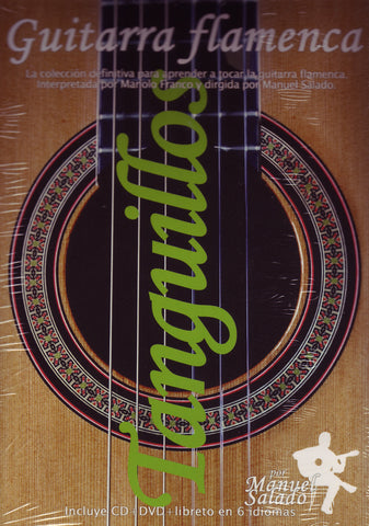 Image of Manolo Franco, Guitarra Flamenca: Tanguillos, DVD & CD