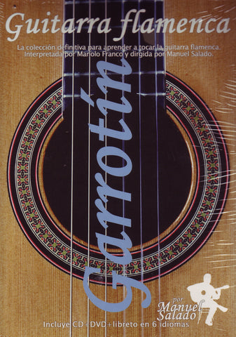 Image of Manolo Franco, Guitarra Flamenca: Garrotin, DVD & CD