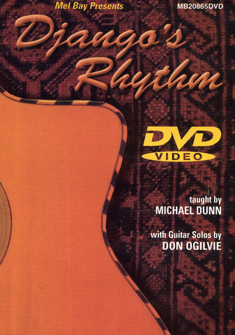 Image of Michael Dunn & Don Ogilvie, Django's Rhythm, DVD