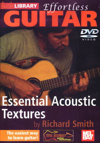 Image of Richard Smith, Essential Acoustic Textures, DVD