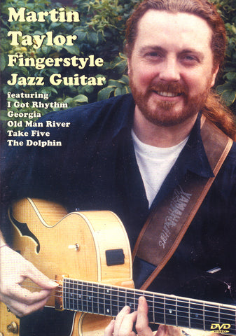Image of Martin Taylor, Fingerstyle Jazz Guitar, DVD