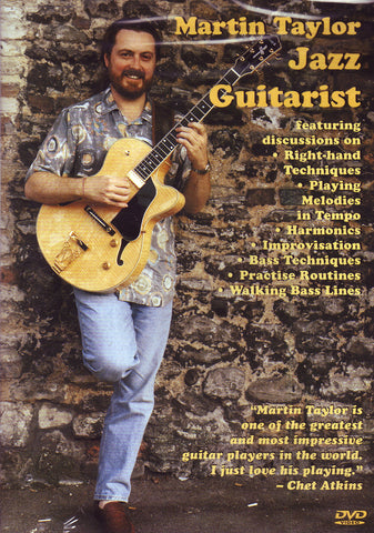 Image of Martin Taylor, Jazz Guitarist, DVD