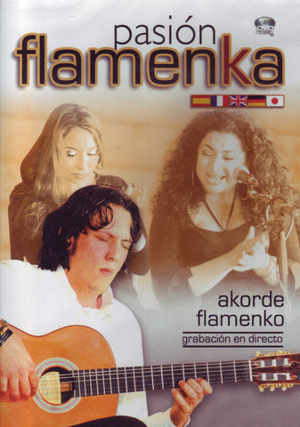 Image of Pasion Flamenka (Various Artists), Pasion Flamenka: Akorde Flamenko, DVD