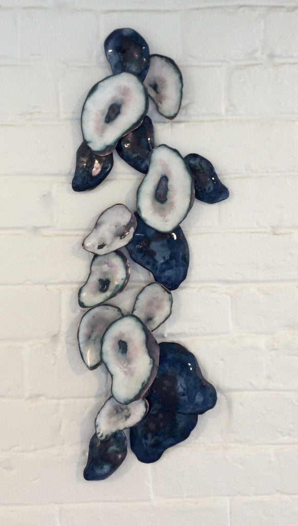 Enamel Shells Wall Sculpture