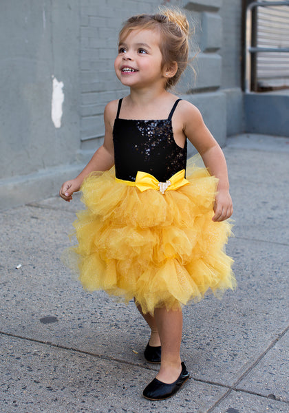 TC3740D Tinkerbell - Sequin Bodice Tutu Dress
