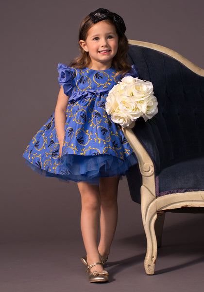 TC2550D Aurora - Cotton Poplin Romantic Casual Tutu Dress