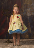 TC2580D Belle Cotton Poplin Casual Romantic Tutu Dress