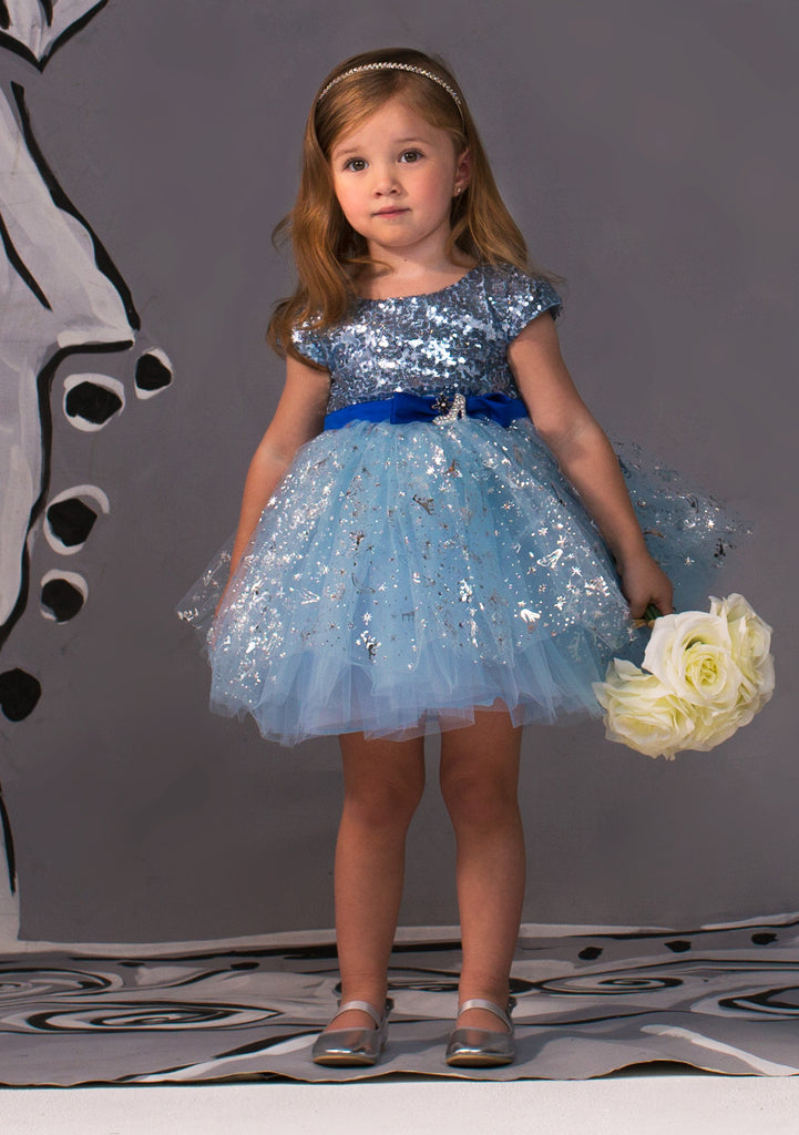 TC1690D Cinderella - Romantic Tutu Dress with Sequin Bodice