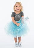 TC1737S Mid-Length Romantic Tutu Skirt