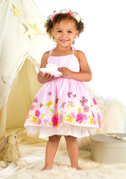 TC1980 Chambray Tutu Dress