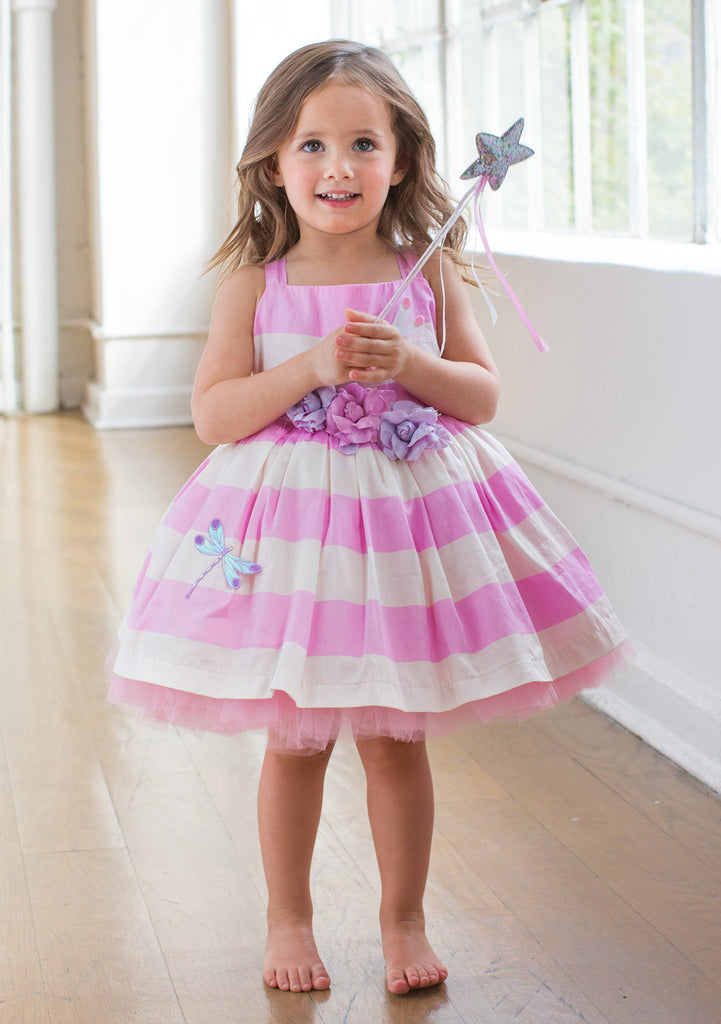 TC2580 Bow Back Cotton Sateen Tutu Dress