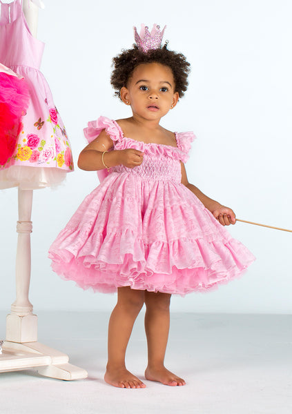 TC2600 Smocked Cotton Petti Dress