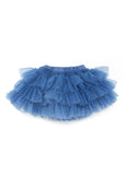TC1877 3 Piece Set- C/S Short Sleeve Tee, Tiered Classic Glittered Tutu Skirt and Sweater Knit Bolero