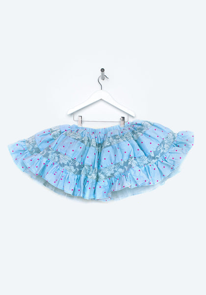 TC3807 Cotton and Lace Inset Petti Skirt