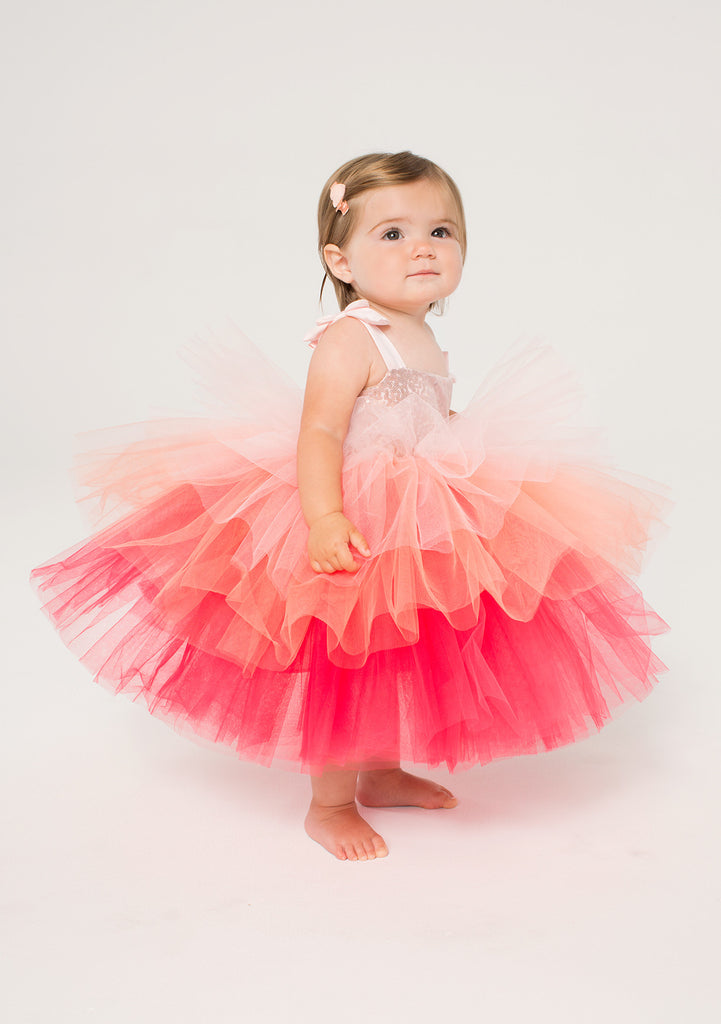 TC2990 Sequin Classic Tutu Dress with Diaper Cover
