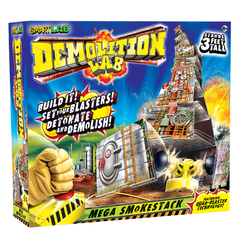 Demolition Lab: Mega Smokestack