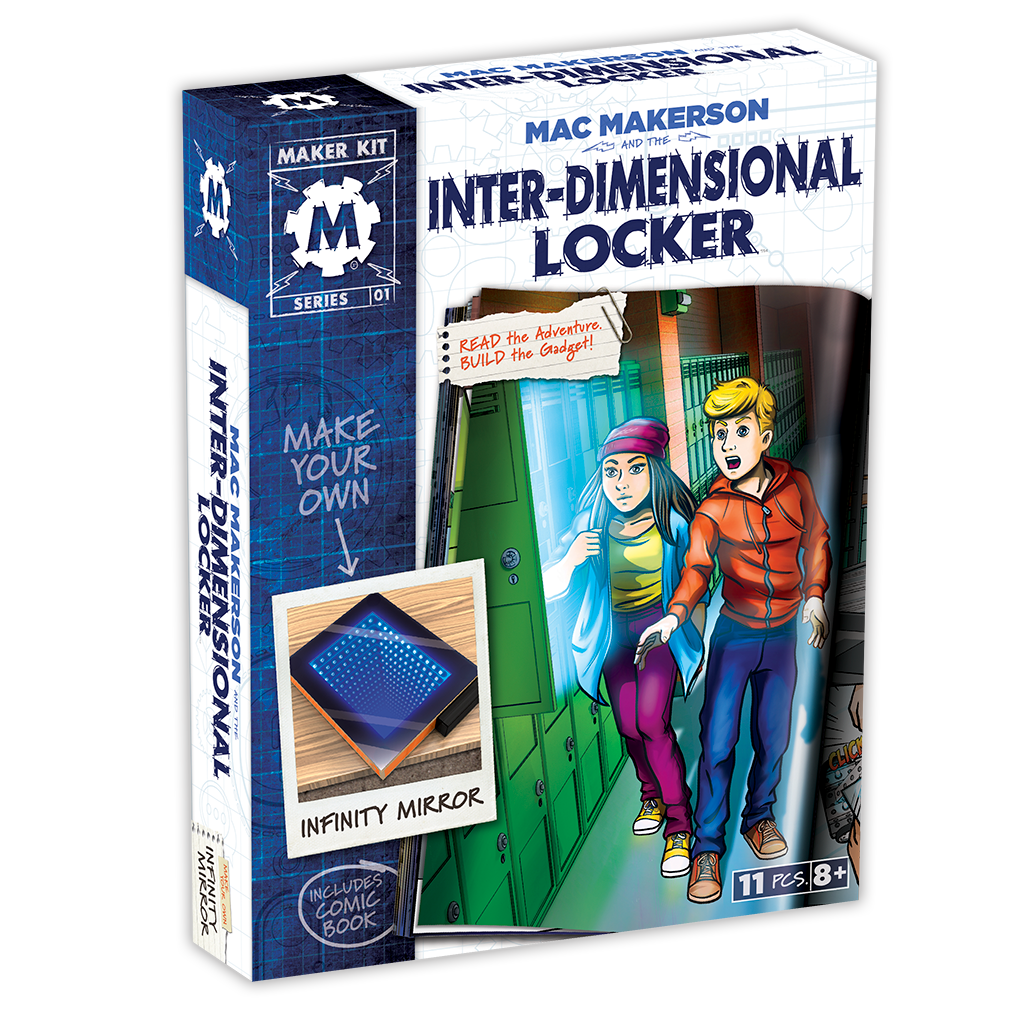 Mac Makerson and the Inter-Dimensional Locker