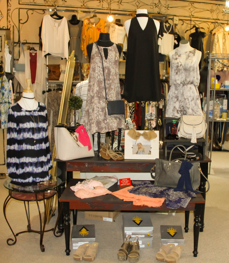 Delaneys Tops, Dresses and Summer Wear, Shoes, Sandals great for any occasion